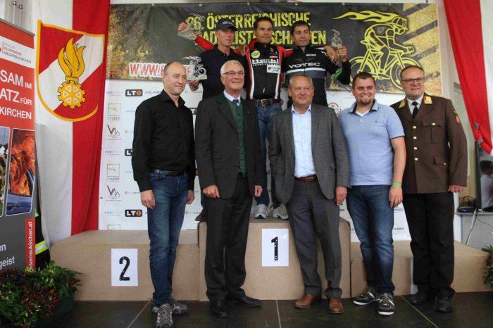 Alle Jahre wieder: LM Fritz Rautner gehört zu den schnellsten Feuerwehrleuten Österreichs auf dem Rennrad