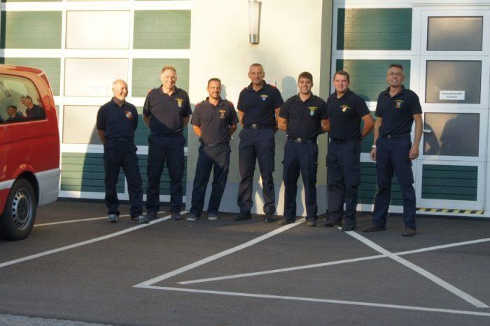 Fordernde Ausbildungstage für die Mitglieder der Kommandogruppe des 3. KHD Zuges.
