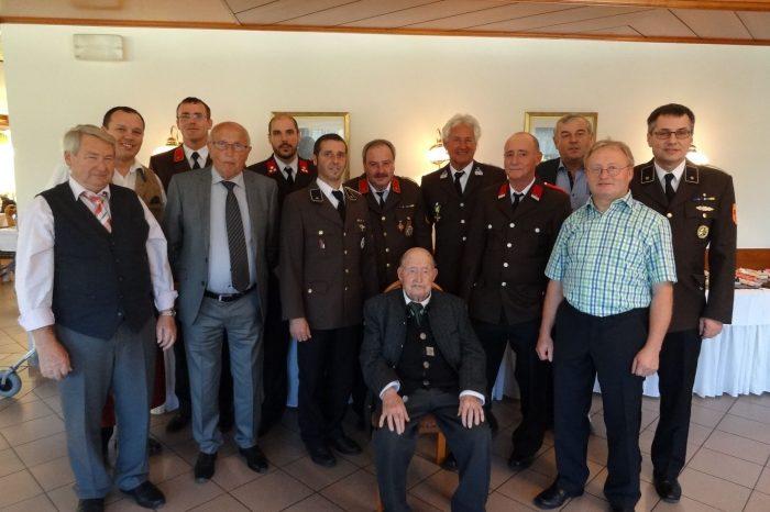 90 Jahre EHBM Josef Ulzer sen. / 75 Jahre FF-Dienst