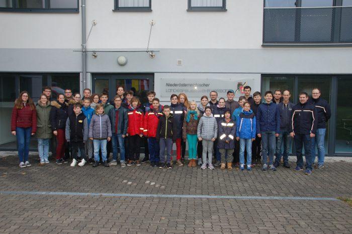 Besuch im Haus der Niederösterreichischen Feuerwehrjugend