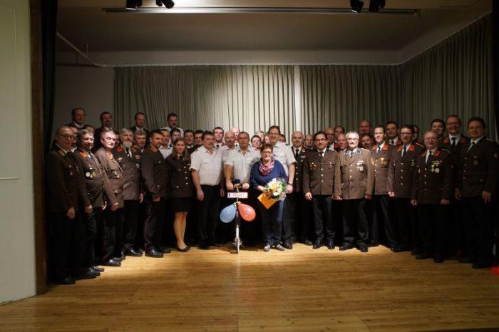 Abschnittskommandant Reinhard Mathes wurde 60