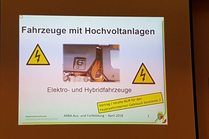 Interessantes Winterschulungs-Thema im UA-Grafenegg