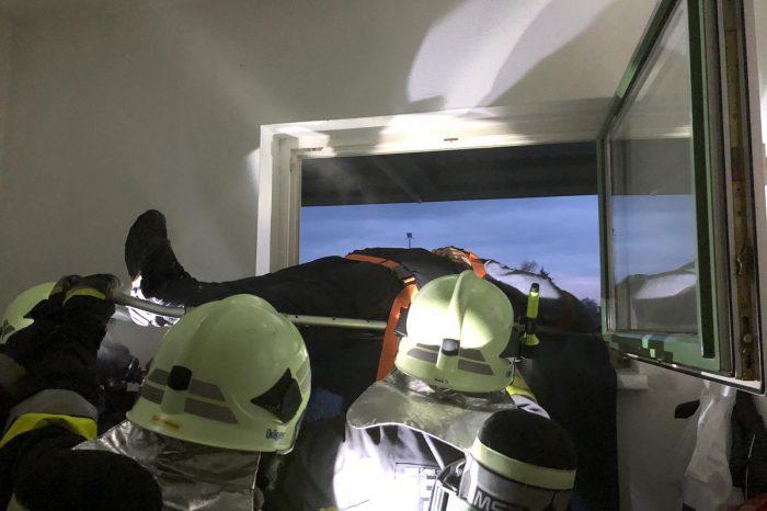 Atemschutzübung des UA-Grafenegg