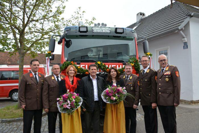 Fahrzeugsegnung der FF Gobelsburg – Zeiselberg