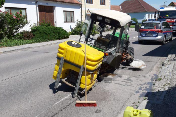 Traktorbergung in Kammern