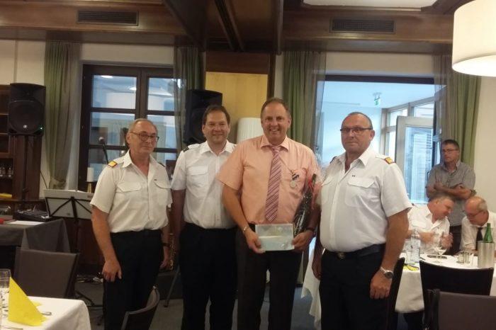 Feuerwehrkommandant Gerhard Schwabl wurde 50