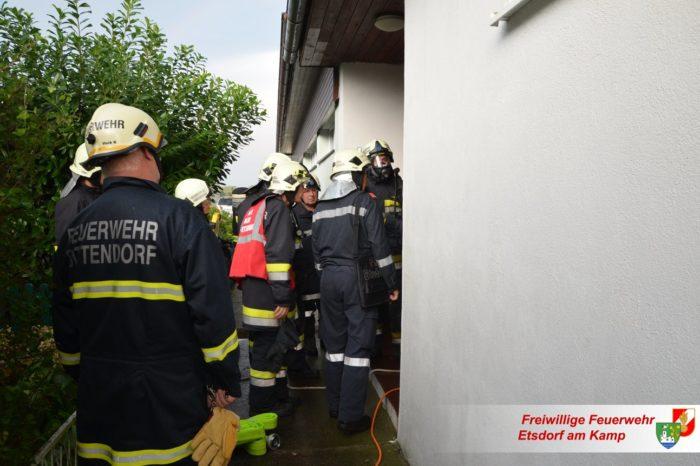 Brandverdacht nach Gewitterfront