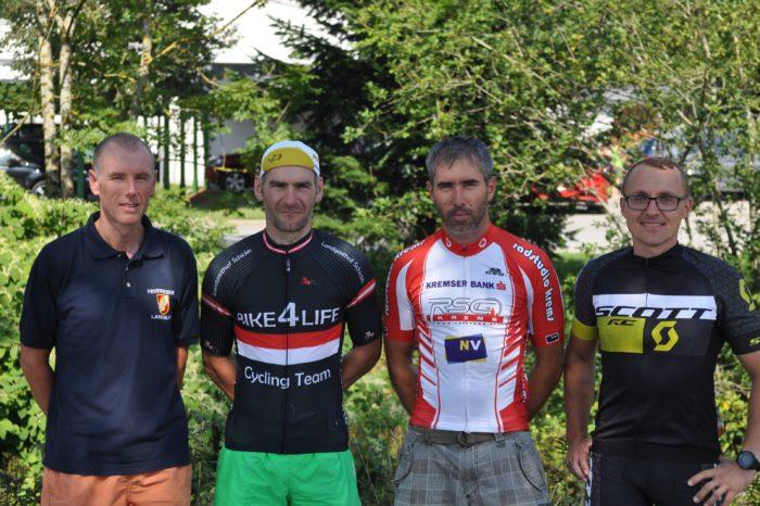 4 Feuerwehrmitglieder aus dem Bezirk Krems bei den Österreichischen Radmeisterschaften