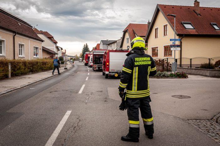 Küchenbrand in Hadersdorf am Kamp