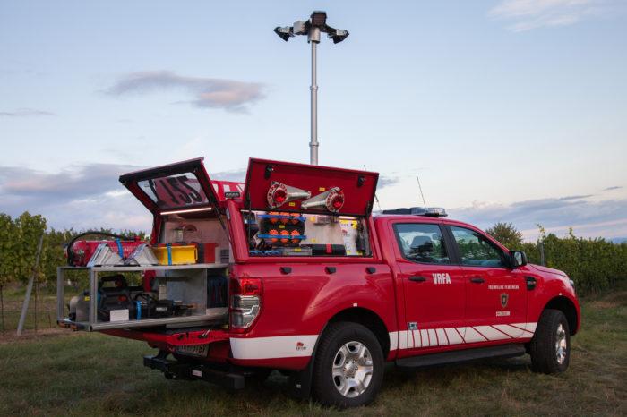 Neues Fahrzeug für die Feuerwehr Schiltern!