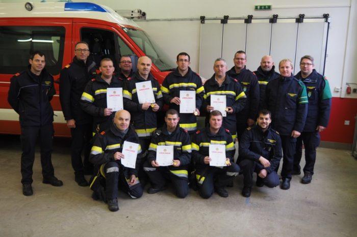 FF Reith: Ausbildungsprüfung Atemschutz erfolgreich gemeistert