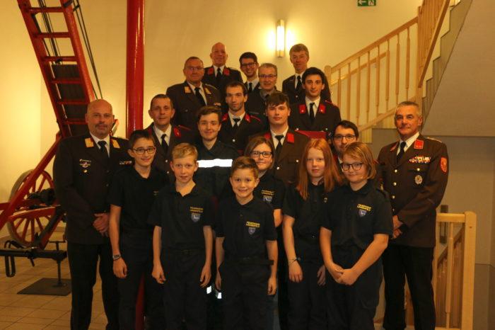 Jahreshauptversammlung der Feuerwehr Lengenfeld