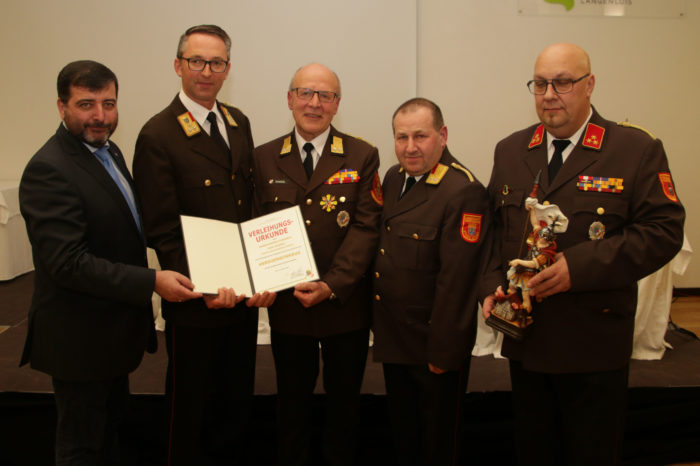 Bezirksfeuerwehrtag 2020 in Langenlois