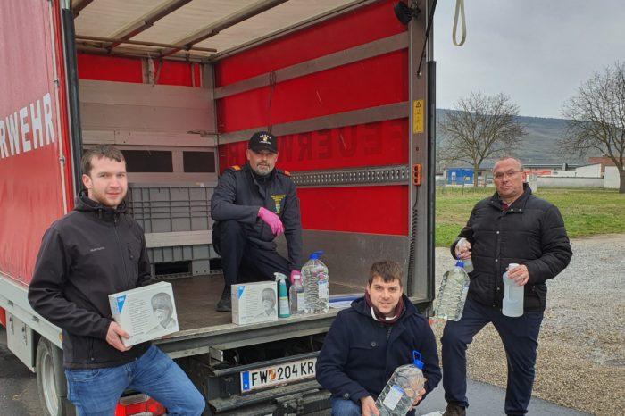 COVID-19 – Desinfektionsmittel für die Feuerwehren