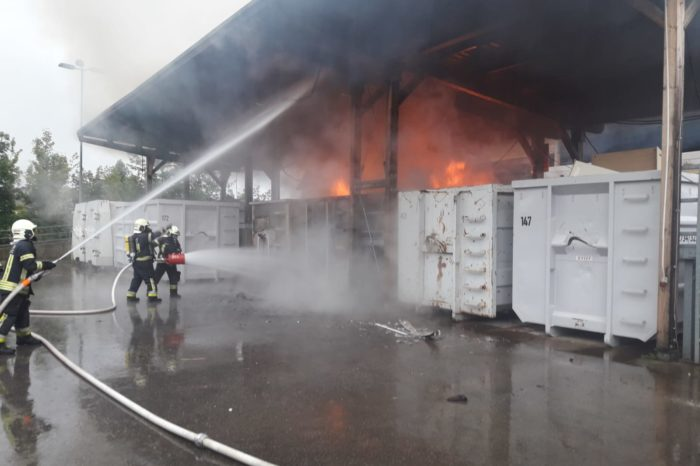 Brandeinsatz in Langenlois