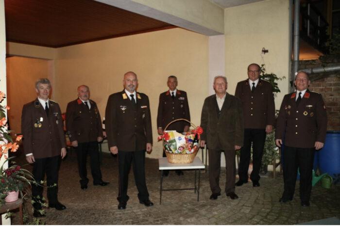 70. Geburtstag EOBI Franz Ettenauer von der Feuerwehr Lengenfeld