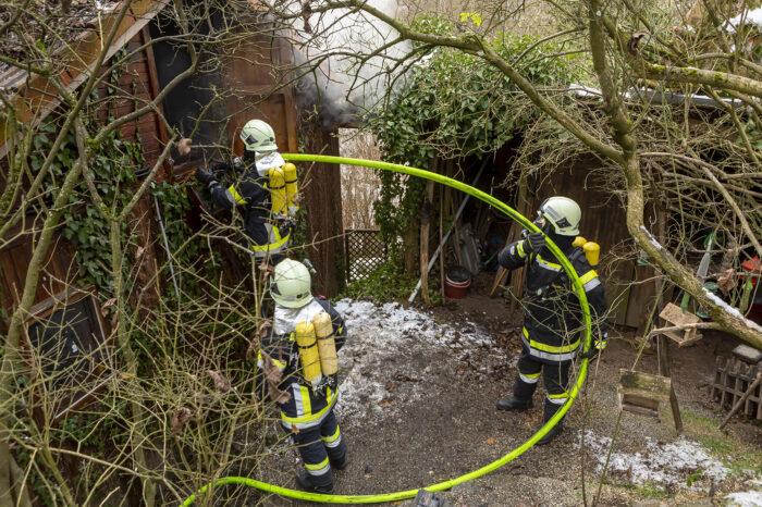 Wohnhausbrand in Reith