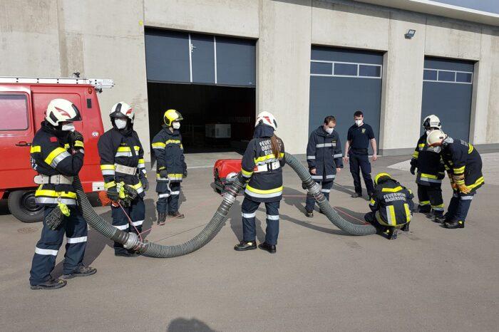 """Modul """"Feuerwehr-Basisausbildung"""" 2021"""