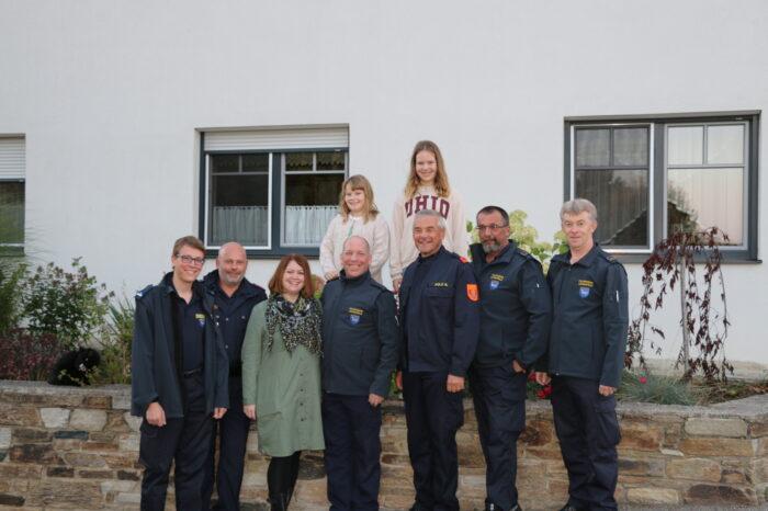 OBI Stefan Penz der Feuerwehr Lengenfeld absolvierte Ausbildung zum Einsatztaucher